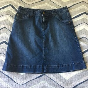 Woolrich jean denim skirt Size 8